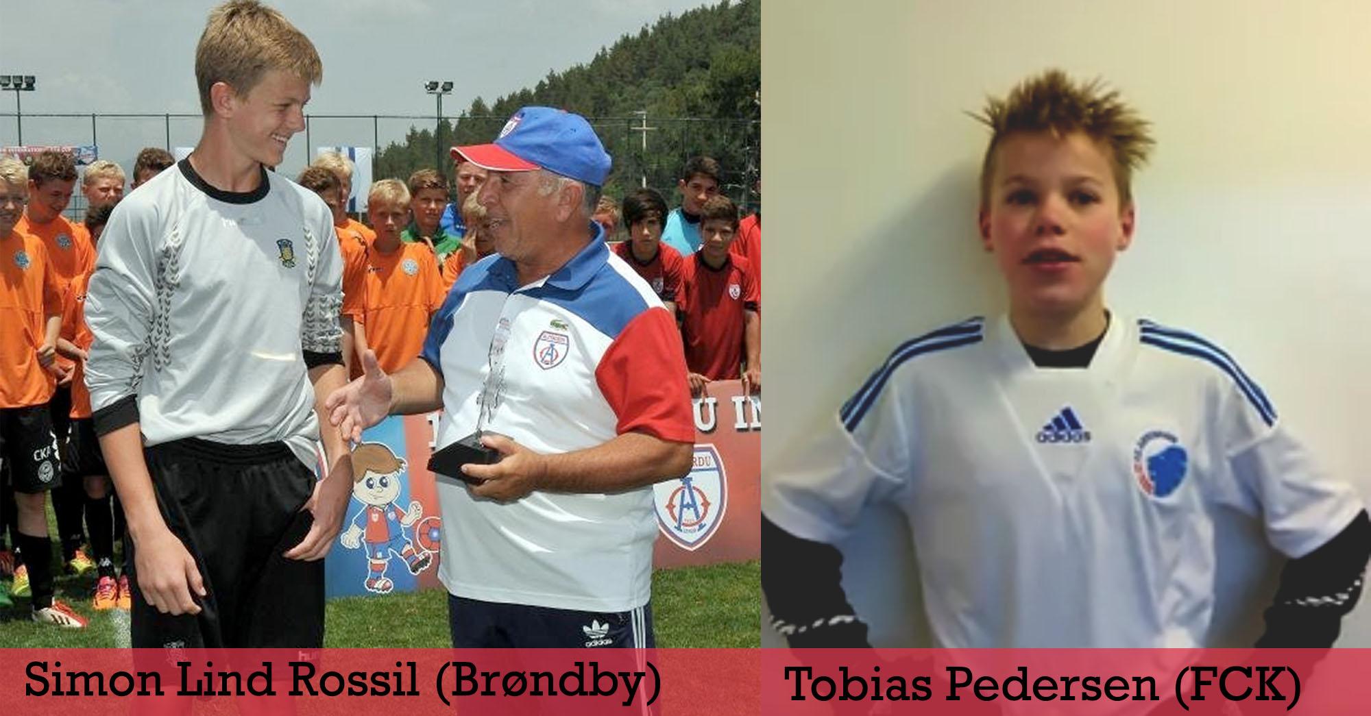 Talenttræning : Simon Rossil og Tobias Pedersen